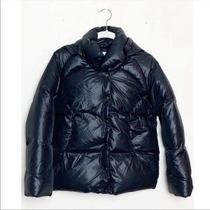 Stella McCartney Quilted Down Puffer Jacket Black